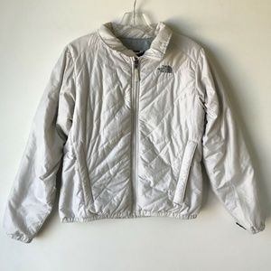 The North Face Insulated Lining Jacket White #809